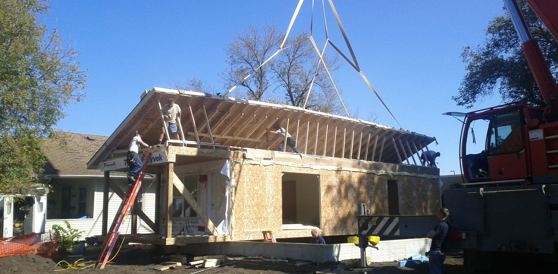 Lifting the roof