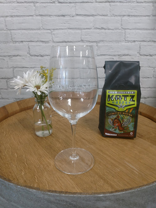 Enoch's Stomp V&W Wine Glass