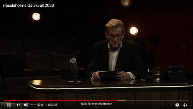 Årets Företagare i Hässleholm 2020!