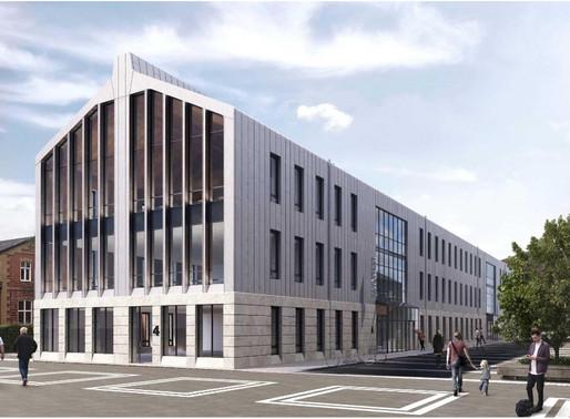 M4, Skånetrafikens nya huvudkontor.