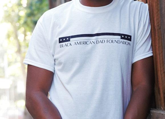 WHITE B.A.D. FOUNDATION T-SHIRT