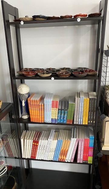 Incense Burners and Books
