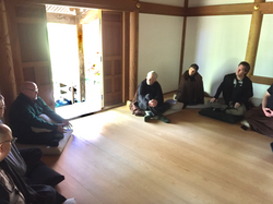Discussion during the 2108 retreat, Place of Peace