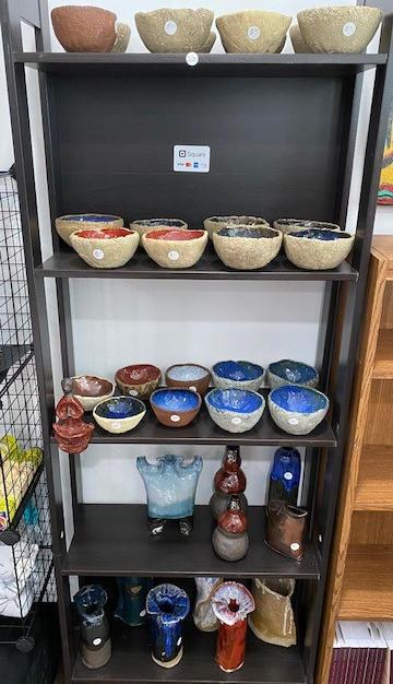 Pottery by Sensei Glenn