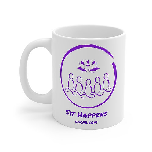Logo Mug 11oz, Left Handed
