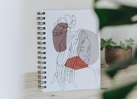 Caderno pautado Embaraço