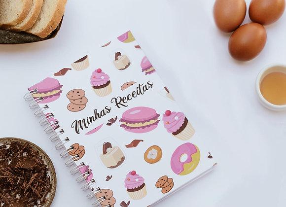 Caderno de receitas doces