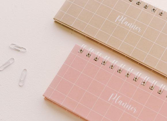 Planner semanal não tão básico