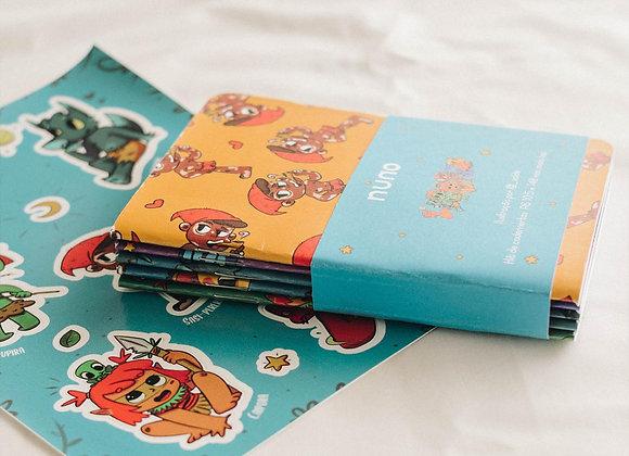 Kit cadernetas Lendas
