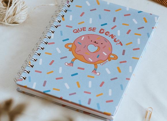 Sketchbook Que se Donut