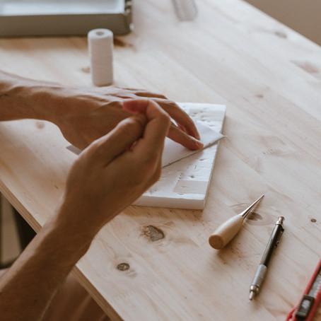 Como decidi iniciar uma papelaria artesanal