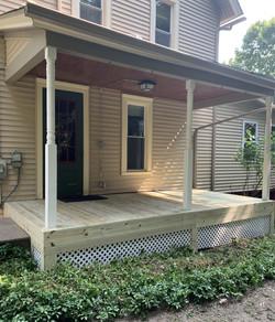 Back Porch Restoration