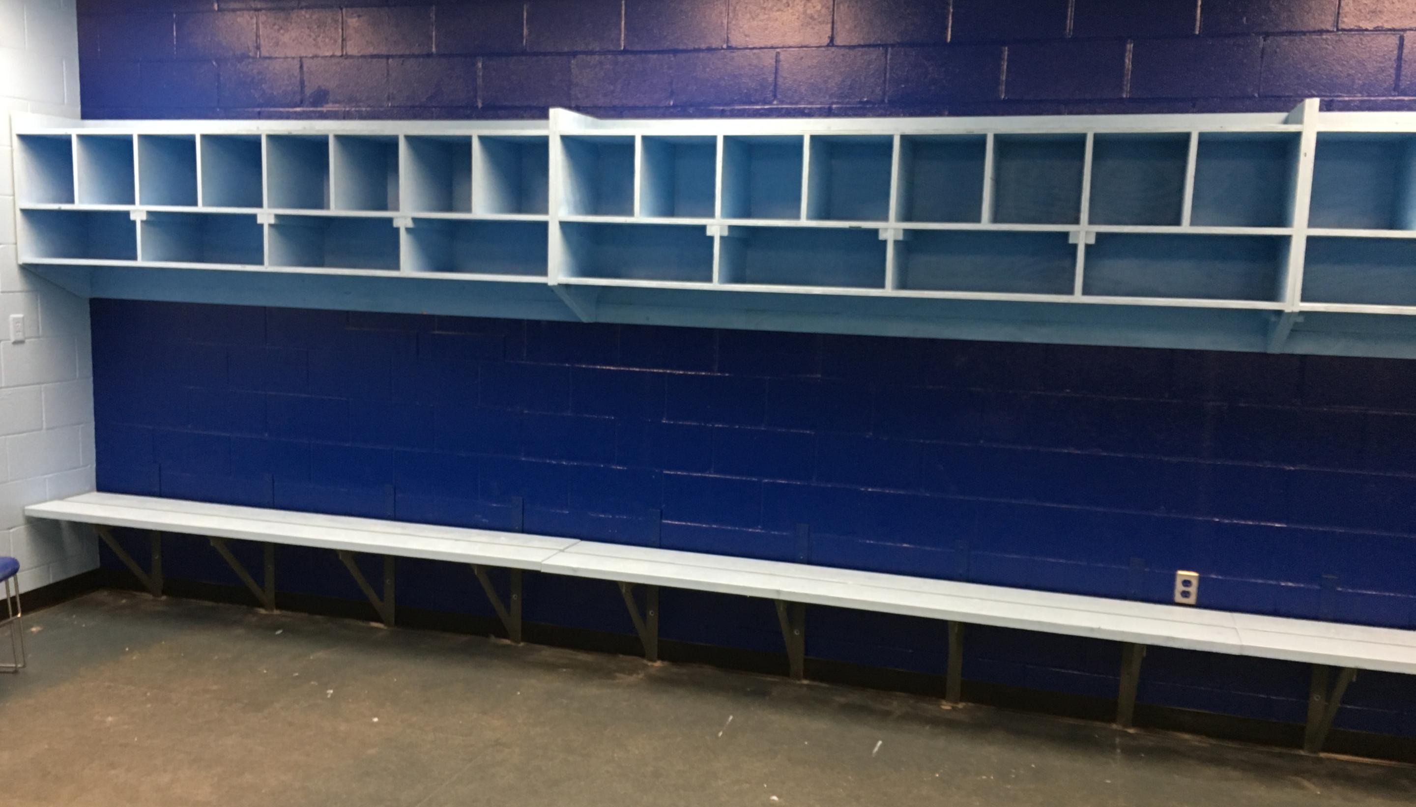 Hockey Locker Room