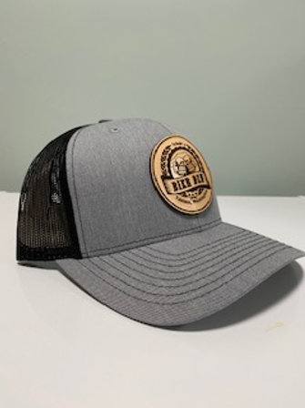 Trucker Hat w/ Leather Logo