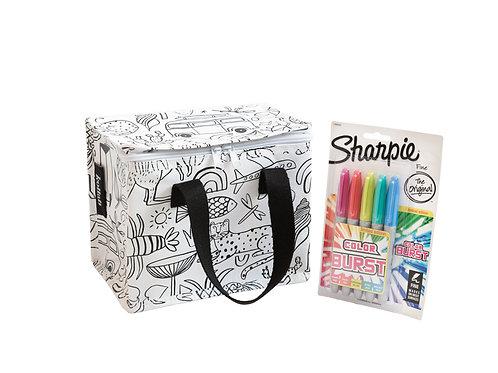 Lunch Bag à colorier