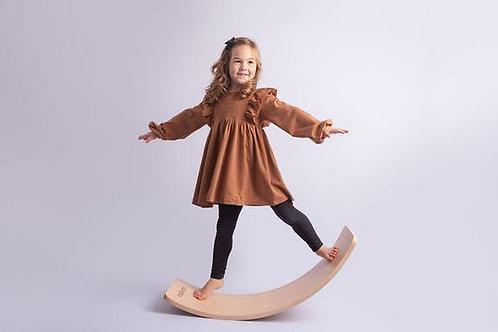 Planche d'équilibreen bois