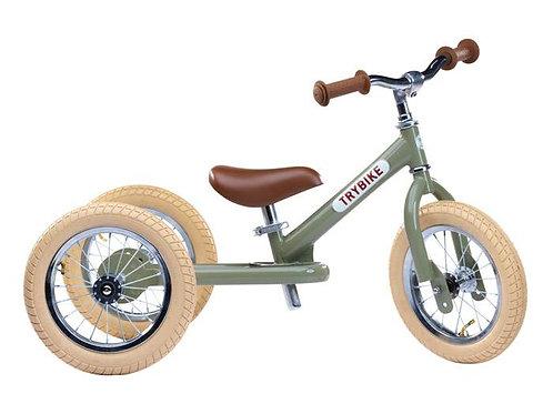 Trybike tricycle vert olive
