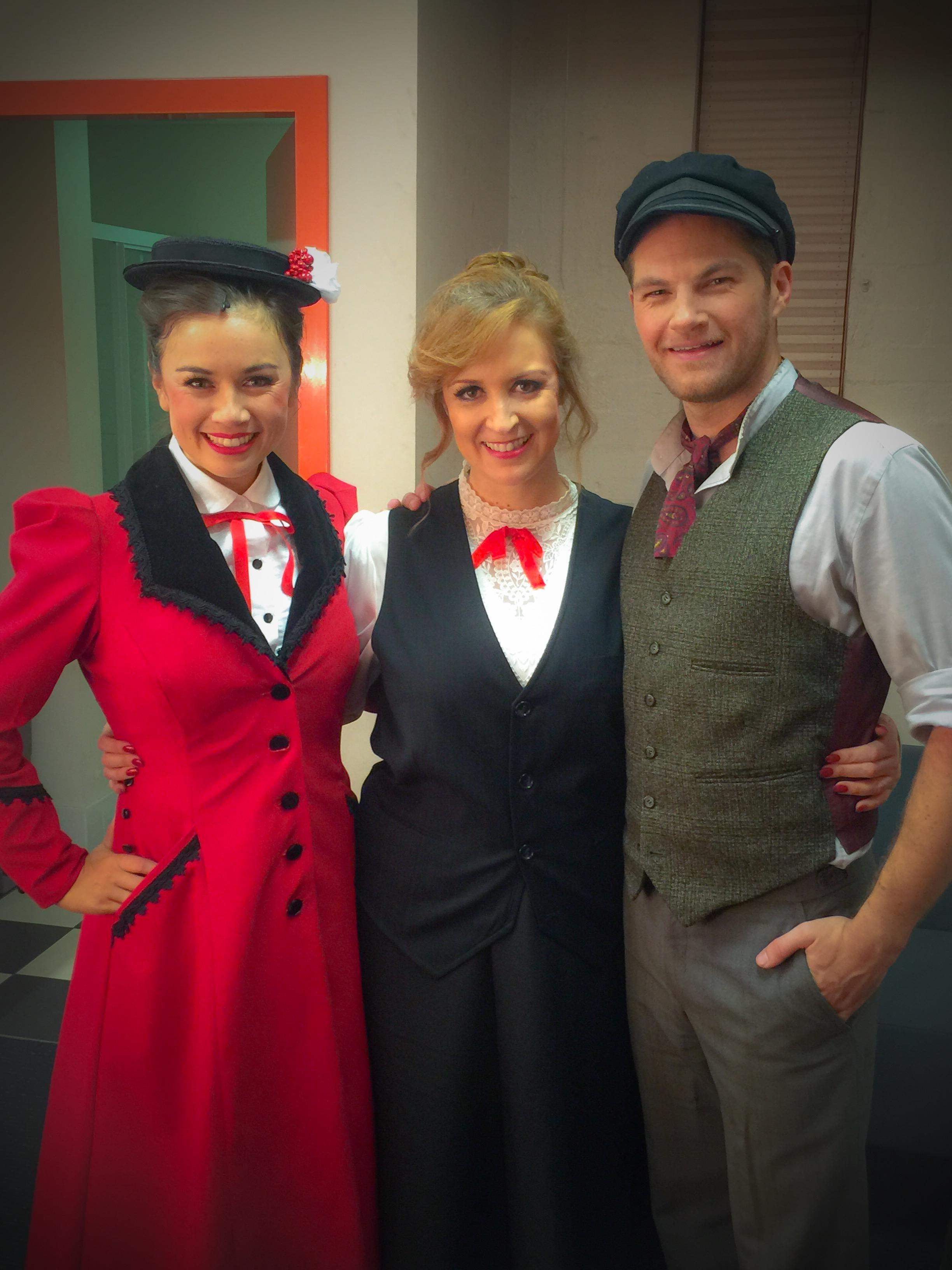 Janelle, Mary & Bert
