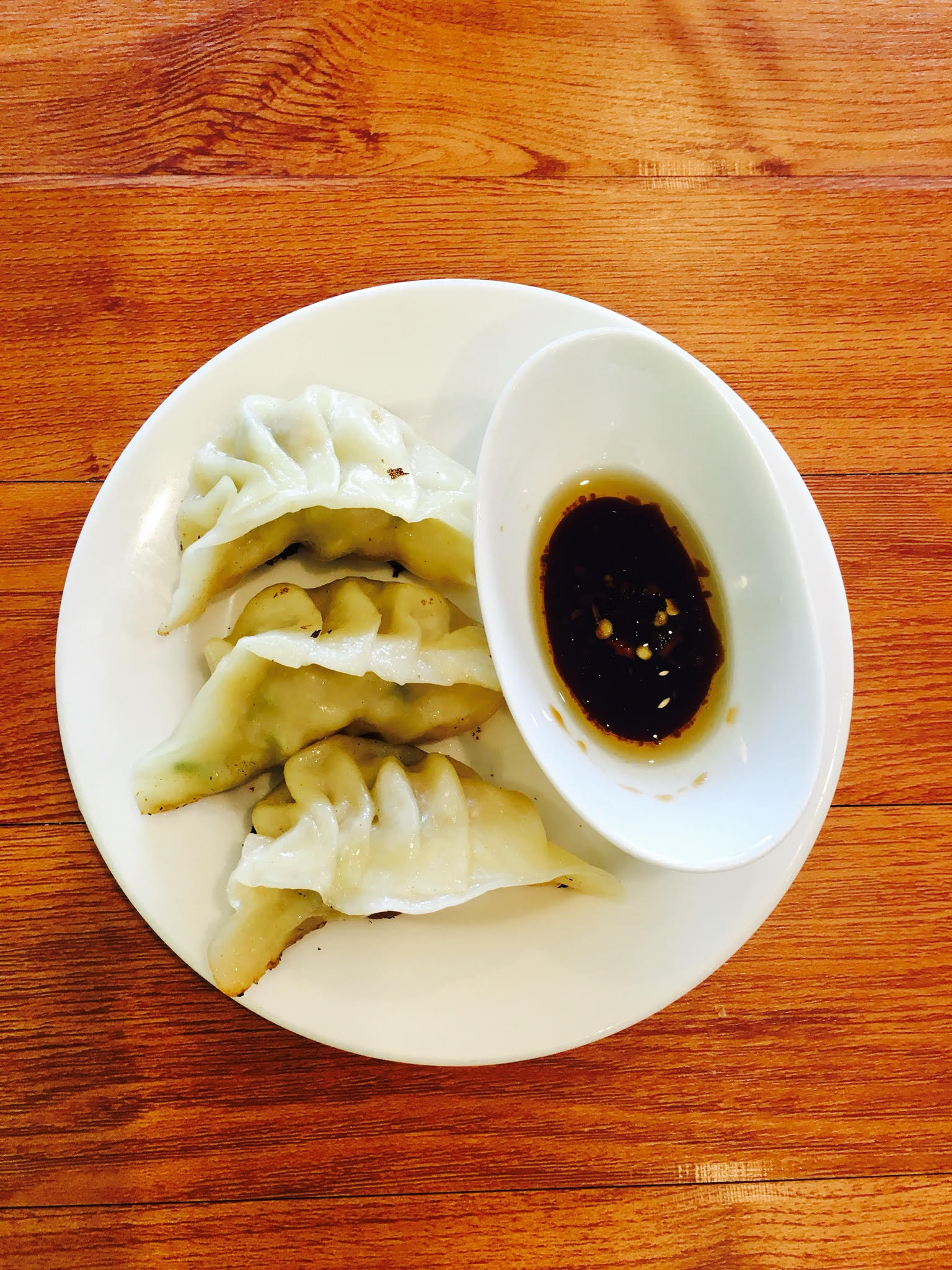 Pan Fried Handmade Dumplings