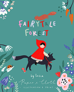 FairyTale Forest by © Lucia Wilkinson Paper & Cloth_logo