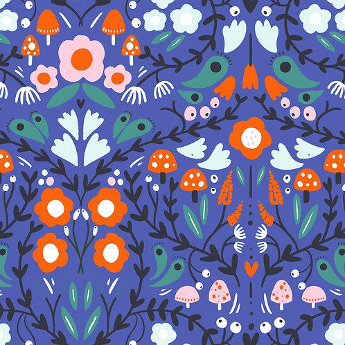 Follow the path - purple