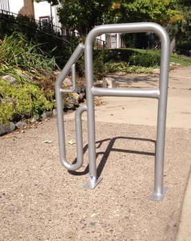 Say No to Big Oil Bike Rack