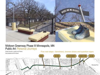 Midtown Greenway Rest Stops