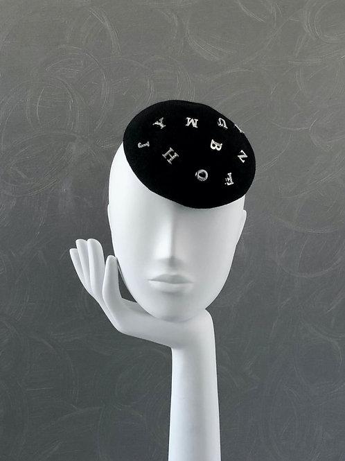 Alphabet Beret Hat