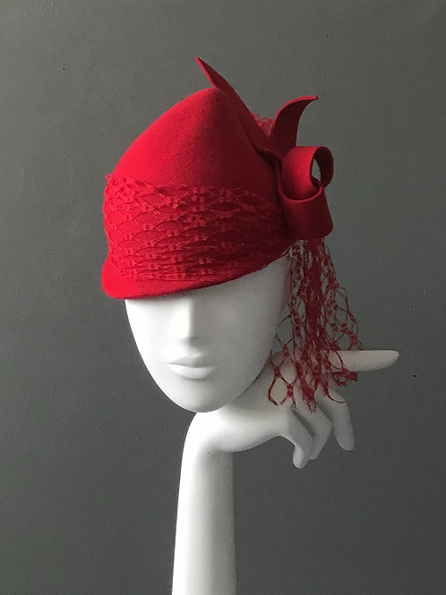 Velour Felt Mood Hat