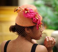 Peach Straw Hat