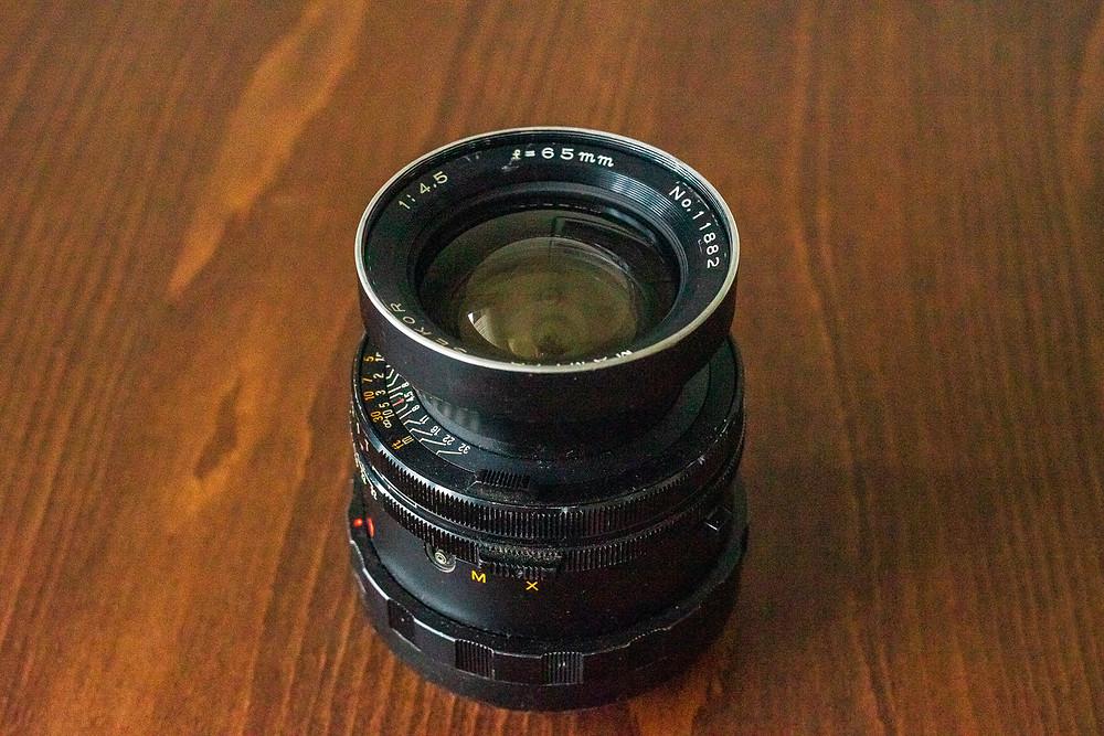 Mamiya Sekor, Objektiv, 65mm, Merten Riesner, analoge Fotogarfie