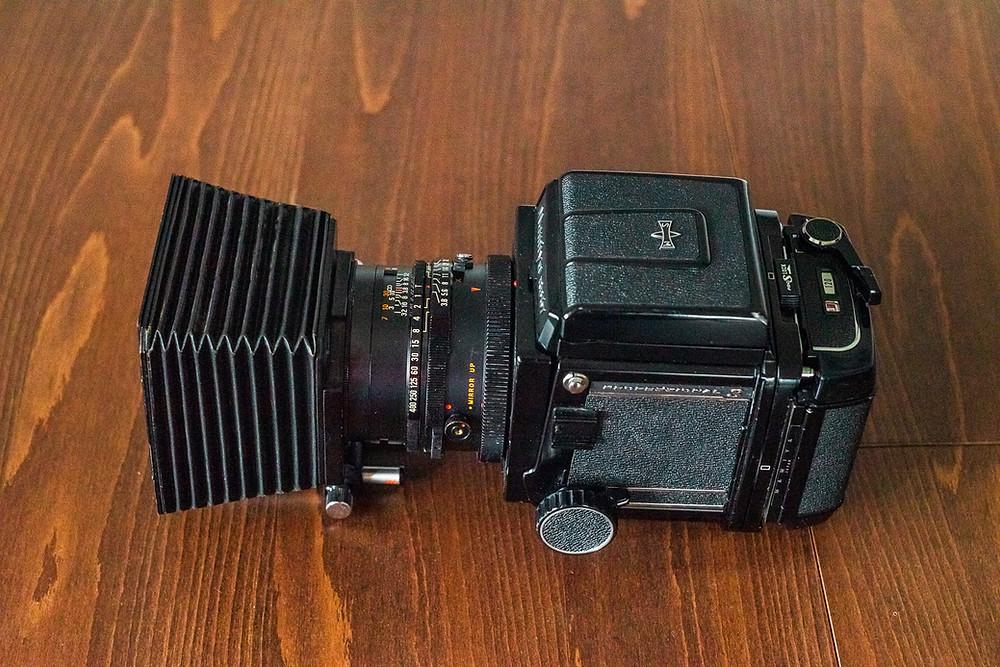 Kompendium der Mamiya RB 67 für Objektive von 90-360mm