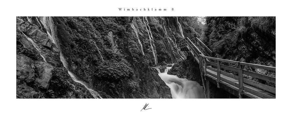 Wimbachklamm, Ramsau , Fine Art Photography, Merten Riesner, analoge Fotografie, Fuji G617