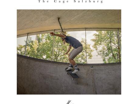 Skateboarder analog fotografiert | Fine Art Photography aus Inzell