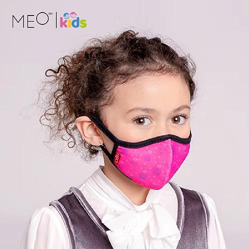 【紐西蘭】MEO™️ Kids 可愛輕便防護口罩/抗菌抗流感/PM0.1阻隔/女童款