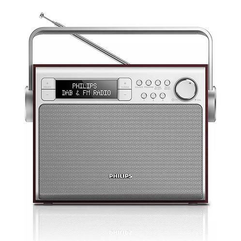 PHILIPS 便攜式收音機/DAB+及FM訊號/AE5020/05
