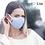 Thumbnail: 【紐西蘭】MEO™️ Lite 輕便時尚防護口罩/抗菌抗流感/PM0.1阻隔/淺藍色款 (Blue)
