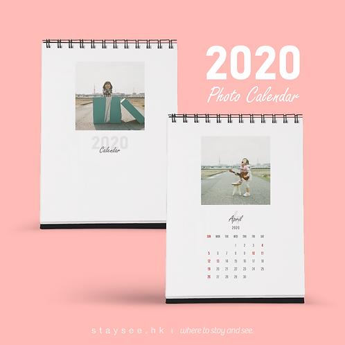 Photo Calendar 2020 - Square V/140 x 182mm/免費排版