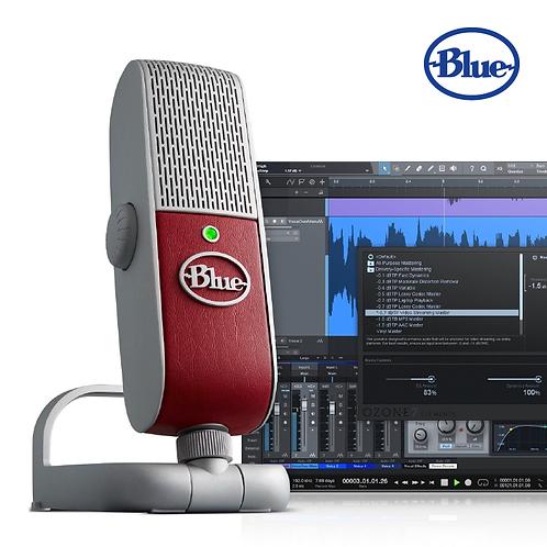 【美國】 Blue Raspberry 專業級攜帶型電容式 USB 麥克風/適合直播、遊戲串流、 Skype通話、人聲及樂器