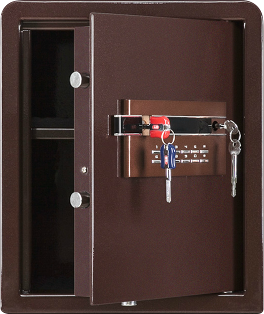 ED-450酒紅色(內部) 夾萬/保險箱