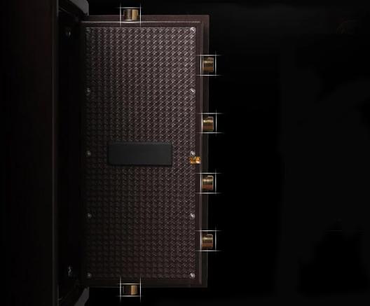 實芯超長三面6點鎖栓,多點防護
