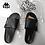 Thumbnail: Kappa Men's Printed Slide Slippers - 男士拖鞋/黑色