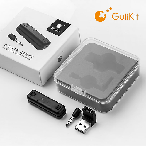 Gulikit - Route Air Switch Pro藍牙音頻發射器/含咪高峰/Switch PC PS4適用