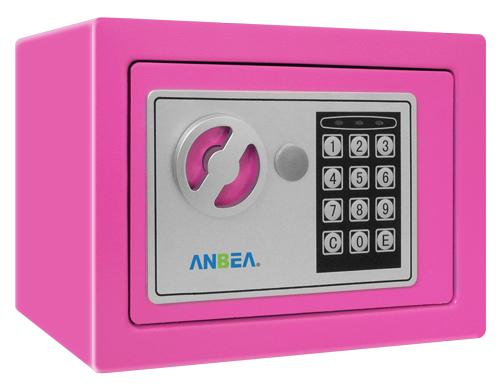 TG-280 夾萬/保險箱 粉紅色