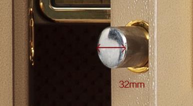 32mm實芯鎖栓 安枕無憂