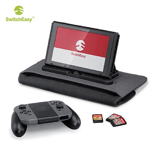 【美國】SwitchEasy PowerPACK for Nintendo Switch 收納隨身包/黑灰色