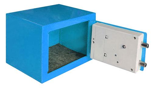 TG-280 夾萬/保險箱 藍色(內部)