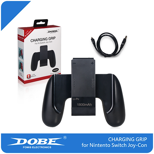 DOBE出品 NINTENDO SWITCH JOY-CON 充電功能連接握柄/1800 mAh CHARGING GRIP