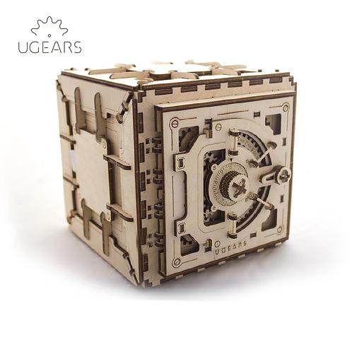 UGEARS - Mechanical 3D Safe puzzle/機械夾萬/179 Parts