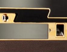 指紋識別面板 機械鎖 指紋 + 鑰匙開啟
